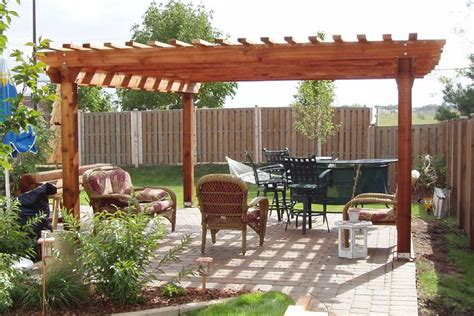 benefits free standing wooden pergola garden landscape