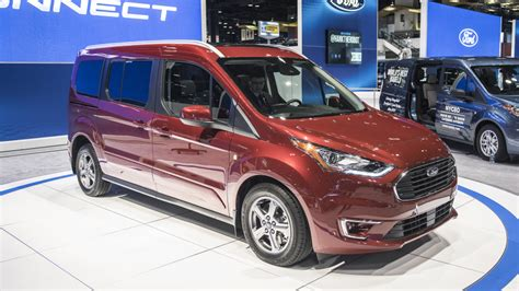 2019 Ford Transit by 2019 Ford Transit Connect Revealed With New Gas And