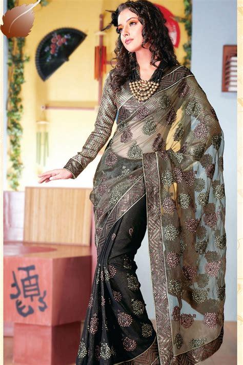 Dress Pesta Motif Bunga Korean Style 2 trend fashion gaun sari elegan khas india