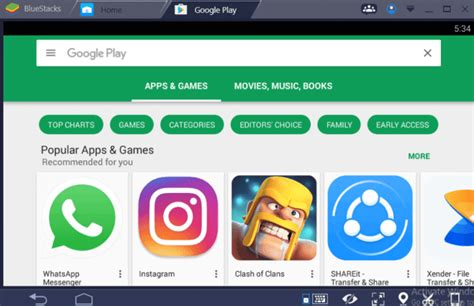bluestacks google play google play store download for pc free windows play