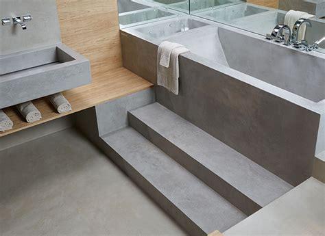 bagni in microcemento qual 232 il materiale pi 249 adatto per il pavimento idee