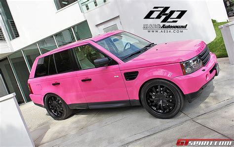 range rover pink and black pink wrap range rover sport by al ed s