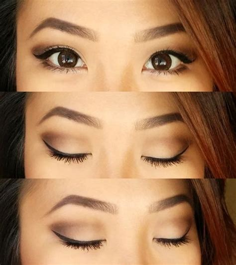 natural makeup tutorial for chinese neutral eyes for hooded small lid space monolids beauty