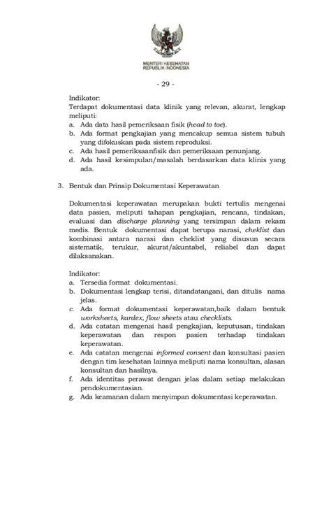 format implementasi askep keluarga pmk no 10 tahun 2015 ttg standar pelayanan keperawatan di