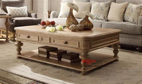 european french country style coffee table living room