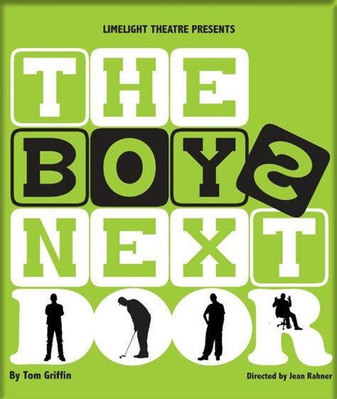 Boys Next Door by Jean Rahner To Direct The Boys Next Door Totally St