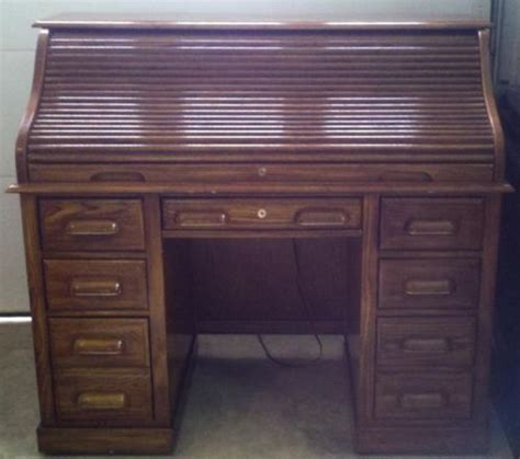 national mt airy furniture desk solid oak national mt airy roll top desk