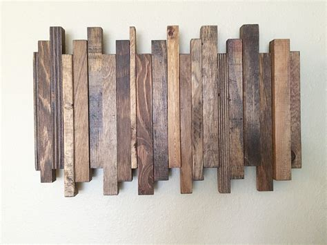 reclaimed wood divider reclaimed wood wall art reclaimed wood art staggered