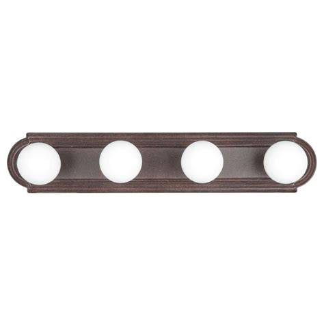 Bronze Bathroom Light Bar by Titan Lighting Quinton 1 Light Bronze Wall