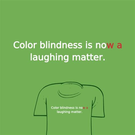 color blind jokes shirt woot