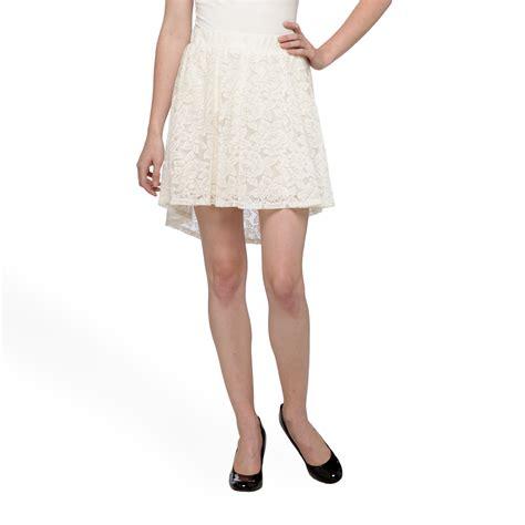 bongo junior s crochet high low skirt clothing shoes