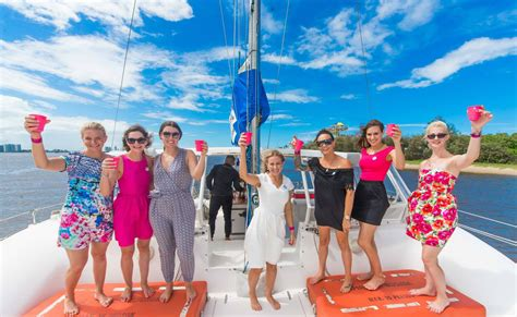 catamaran hens party gold coast some of the best hens night party ideas in gold coast