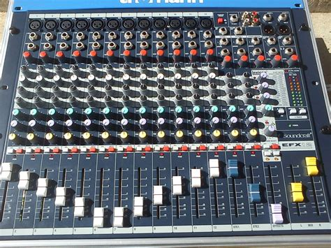 Mixer Soundcraft China image gallery soundcraft efx12