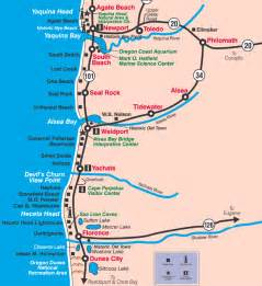 map of oregon coast cities roadtripdays4 5