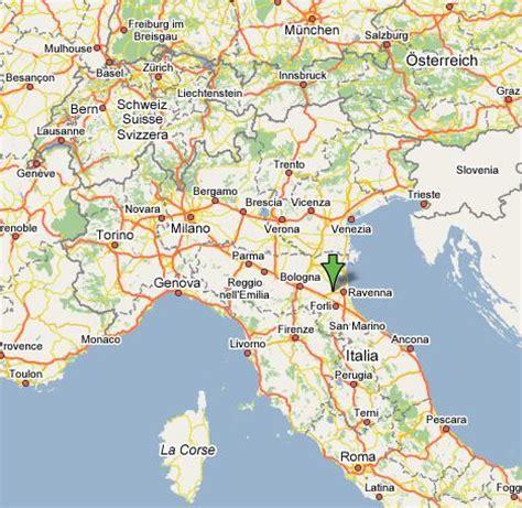 Maranello Italy by Ravenna Map And Ravenna Satellite Image