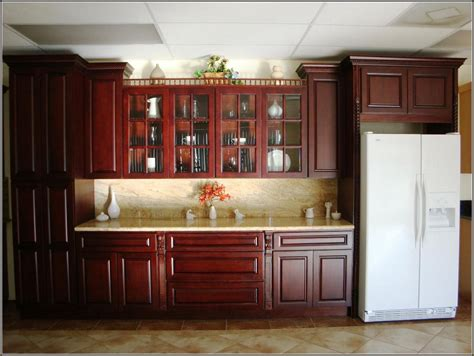 red cherry kitchen cabinets red cherry wood kitchen cabinets alkamedia com