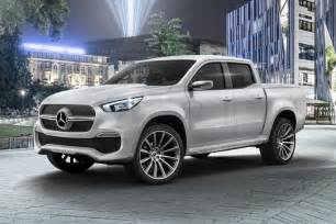 Mercedes Class Mercedes X Class Merc Reveals Posh Up Truck The