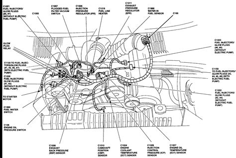 7 3 Powerstroke Fuel System Diagram 6 5 diesel fuel filter lines diagram great installation