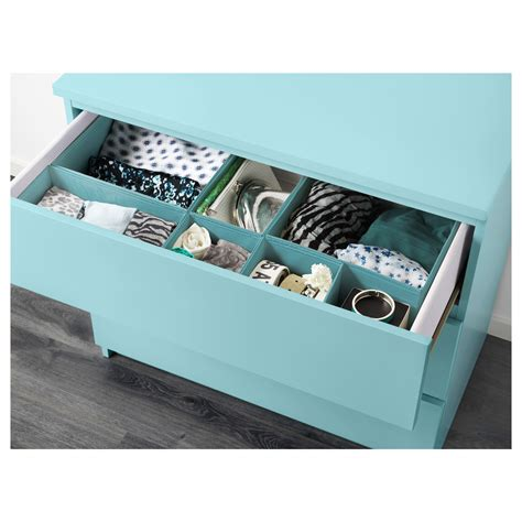Turquoise Chest Of Drawers by Malm Chest Of 3 Drawers Light Turquoise 80x78 Cm