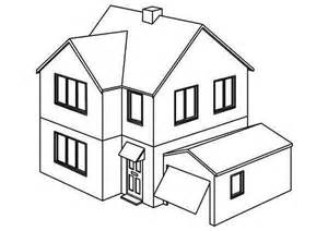 opening garage houses coloring page art 16169