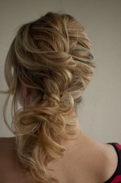 twist and pin side pony hairstyles how to