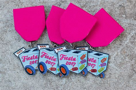 Fiesta Medals Giveaway - 20 food and drink inspired fiesta medals you need this year flavor