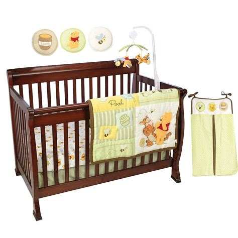 Pooh Crib Bedding Disney Pooh And Tigger Bizzy Bees Crib Bedding Baby Bedding And Accessories