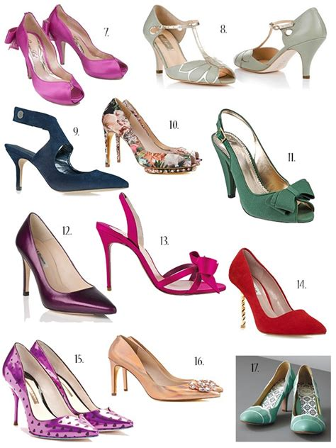 Coloured Wedding Shoes by Coloured Wedding Shoes