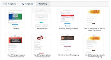 Free Email Caigns Email Caigns From Gmail Mailking Cloudhq Mailchimp Import Template