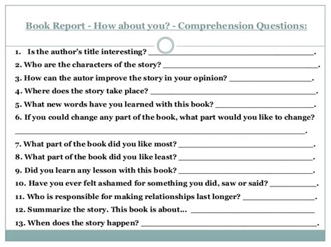 book report questions b5 book 09 brenda larissa