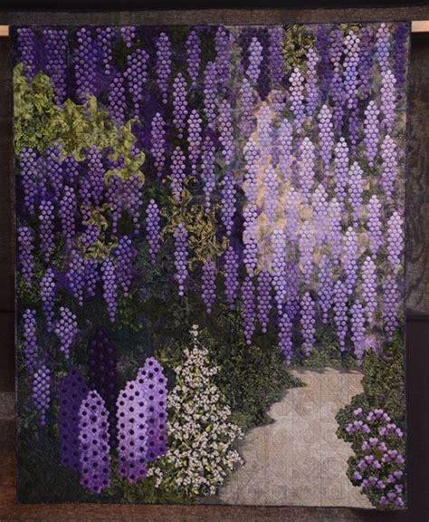 Wisteria Patchwork - blauwe regen wisteria by schipper vermeiren
