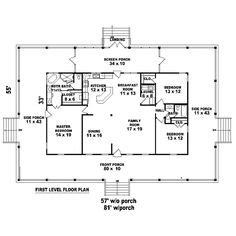 Single Floor House Plans With Wrap Around Porch by Gallery For Gt One Story House Plans With Wrap Around Porch