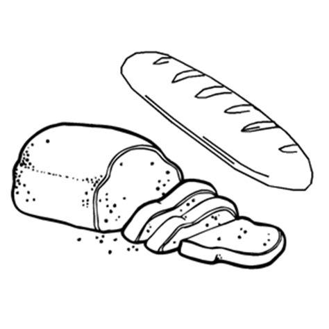 imagenes de pan y uvas para colorear pan de molde y barra dibujos para colorear para ni 241 os