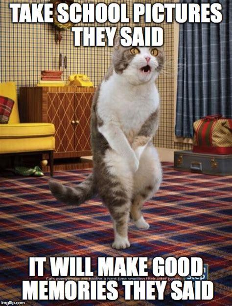 Make Milkshakes They Said Meme - gotta go cat memes imgflip