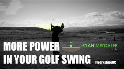 how to get more power in your golf swing swingfix more power in your golf swing youtube