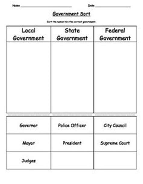 Government Worksheets For 2nd Grade by 2nd Grade Social Studies On Resources