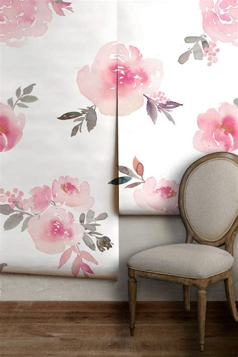 floral removable wallpaper 25 best ideas about watercolor wallpaper on pinterest