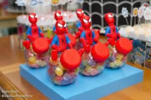 Kara s party ideas spiderman themed birthday party idea decor
