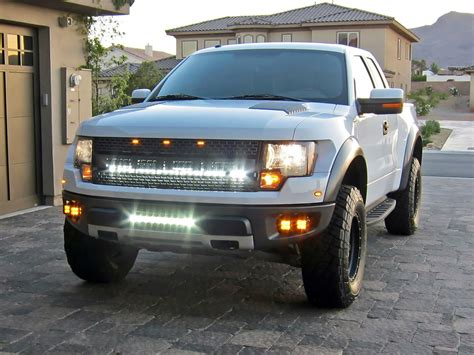 2004 2014 Ford F 150 Raptor Led Light Mounts Brackets