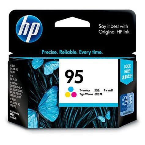 Tinta Hp 95 cartucho de tinta hp 95 tricolor para deskjet c8766wl