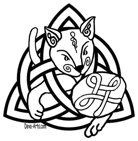 celtic cat tattoo designs 17 best images about drawing ribbons ropes knots