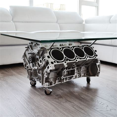 V8 Engine Block Coffee Table V8 Mercedes Cls 500 Coffee Table Rl Craft Touch Of Modern