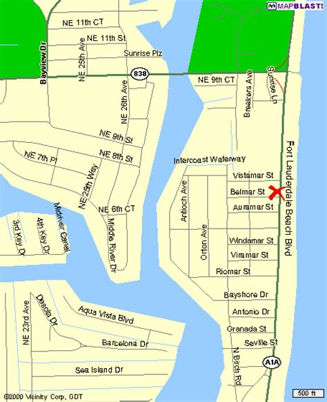 where is fort located in map fort lauderdale sea club resort florida f 233 rias 224