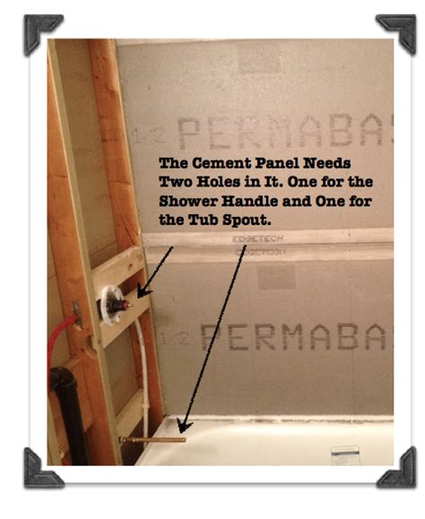 how to install cement board around bathtub retirementnix blog