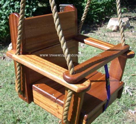 wooden baby tree swing hardwood seat swings