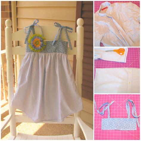 vestidos para hacer en casa c 243 mo convertir camisas viejas en vestidos de ni 241 a encantadores