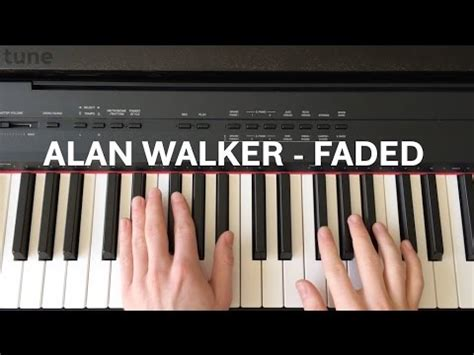 tutorial piano kesempurnaan cinta alan walker faded piano tutorial