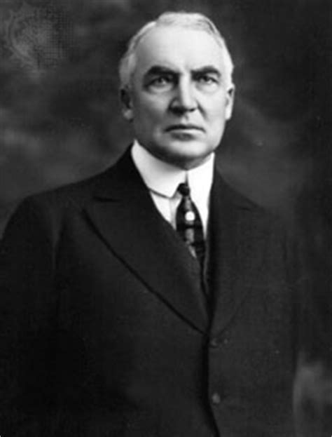 Warren G. Harding | president of United States