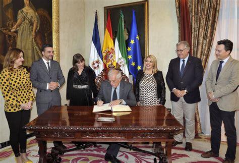 cadena ser jerez visita institucional de josep borrell al ayuntamiento de