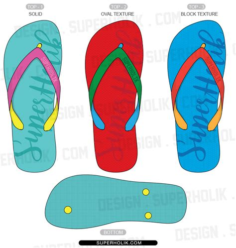 flip flop shoe card template fashion design templates vector illustrations and clip